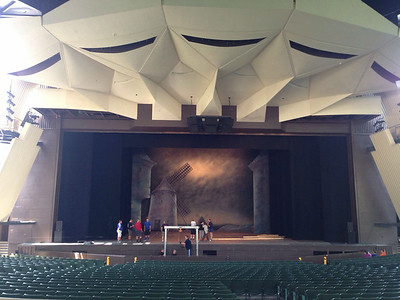 Bolshoi load in @ SPAC, day 2 - July 27, 2014