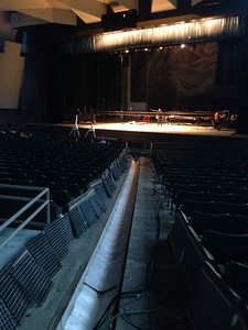 Bolshoi Load in at SPAC, Day 2 - July 27, 2014