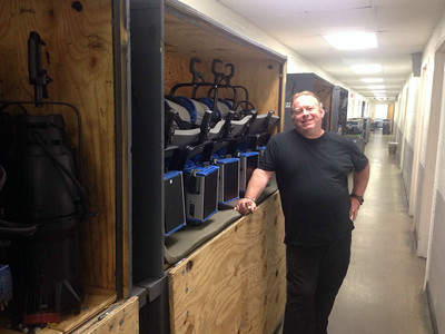 Bolshoi load in at SPAC, July 24, 2014